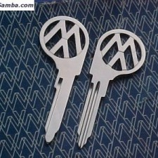 1967~1970 VW Bus (L) Profile Key Blanks $15.00 Each