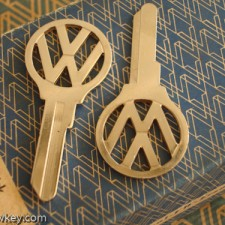 1954-1963 (DEFVZ) VW Bus Key Blanks $15.00 EA