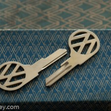 1961-1966 (SV) Profile VW Beetle Key Blank $15.00 EA